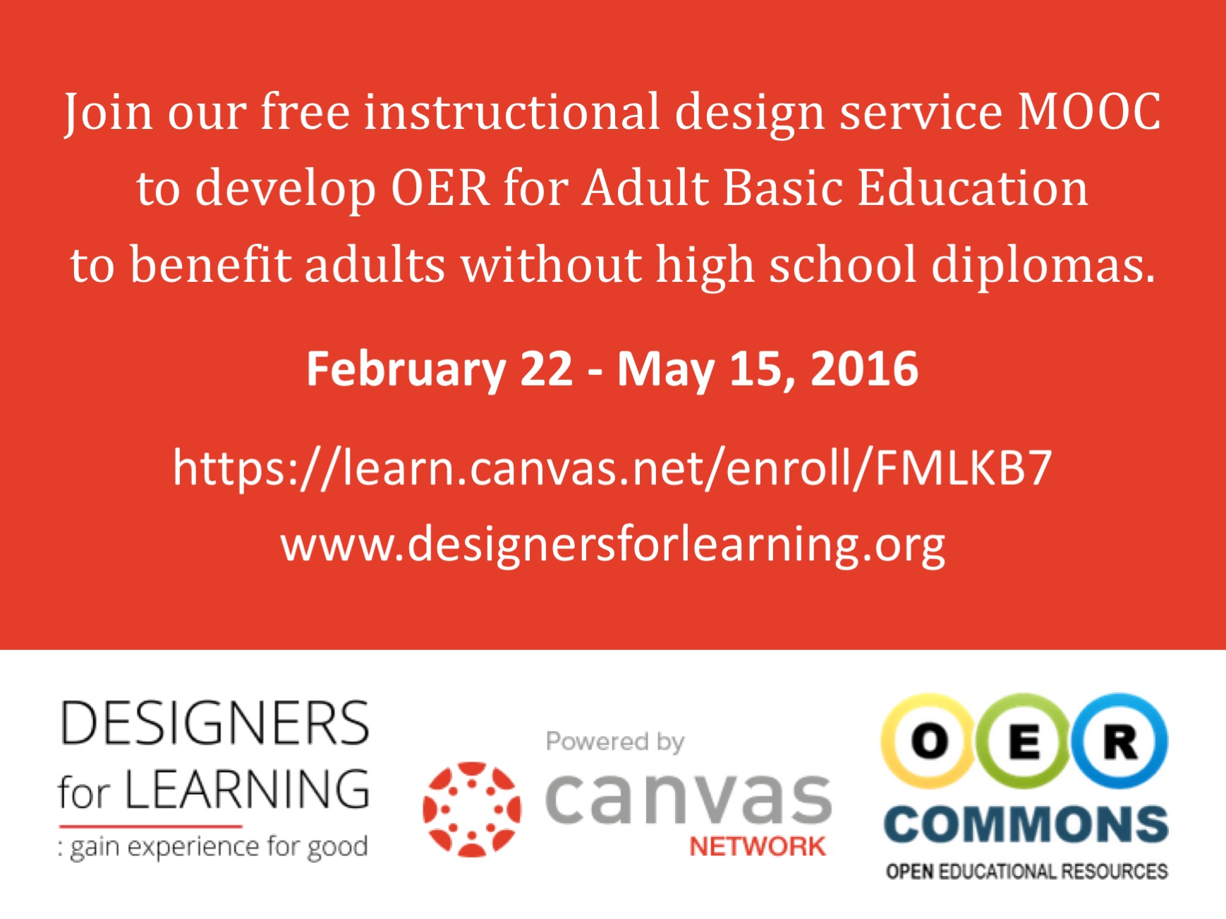 Join Us Open Education Consortium Webinar Jan 19th Designers For Learning